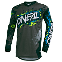 ELEMENT Youth Jersey VILLAIN gray L
