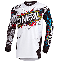 ELEMENT Youth Jersey VILLAIN white XL