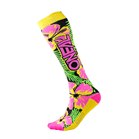PRO MX Sock ISLAND pink/green/yellow (One Size)