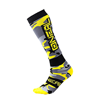 PRO MX Sock HUNTER black/gray/neon yellow (One Size)