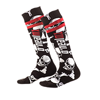 PRO MX Sock Crossbones black/white (One Size)