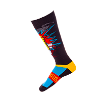 PRO MX Sock BRAAAPP black/multi