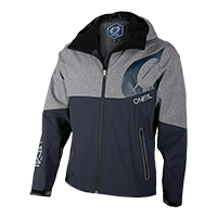 CYCLONE Soft Shell Jacket blue/gray S
