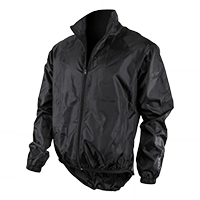 BREEZE Rain Jacket black M