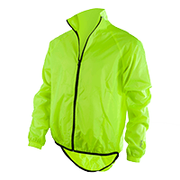 BREEZE Rain Jacket neon yellow S
